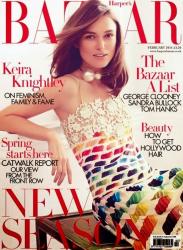 Кира Найтли для Harper's Bazaar UK, февраль 2014