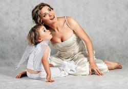 Лариса Черникова с сыном