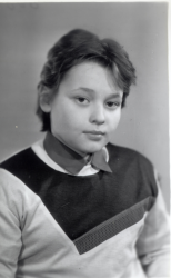 Сергей Жуков в детстве и юности