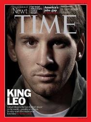 Лионель Месси на обложке журнала Time