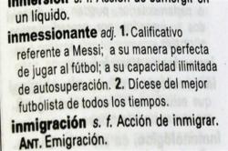 Месси вошел в испанский словарь