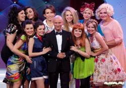 Дмитрий Хрусталев на сцене Comedy Woman