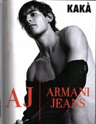 Кака в рекламе Армани