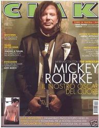 Микки Рурк на обложках журналов