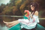 Анна Добрыднева в колоритной фотосессии