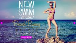Кейт Аптон в рекламе Beach Bunny