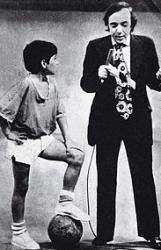 Диего Марадона в детстве и молодости
