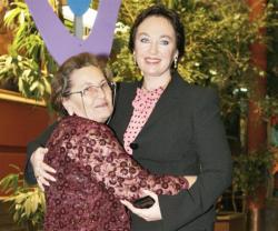 Лариса Гузеева с мамой