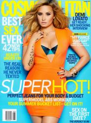 Деми Ловато для августовского номера журнала Cosmopolitan USA