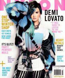 Деми Ловато для журнала Nylon USA, январь 2014