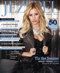 Эшли Тисдейл на обложках журналов