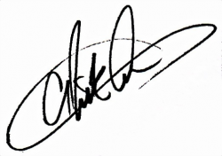 Автограф Ника Картера