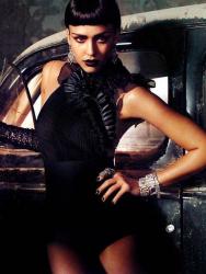 Джессика Альба в журнале Vogue