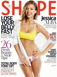 Джессика Альба для Shape, июнь 2015