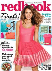 Джессика Альба для Redbook Magazine, апрель 2014