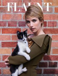 Эмма Робертс для Flaunt, ноябрь 2014