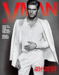Алекс Петтифер в журнале VMan