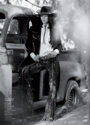Лиу Вен для журнала Vogue China
