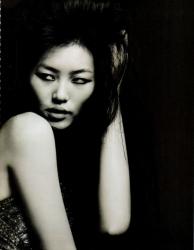 Фотосессия Лиу Вен и Фей Фей Сун для Vogue China