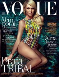 Кэндис Свейнпол для бразильского выпуская журнала Vogue, январь 2014