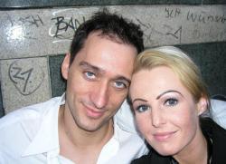 Пол ван Дайк и его жена