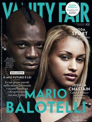 Марио Балотелли и Фанни Роберт Негуеша для Vanity Fair