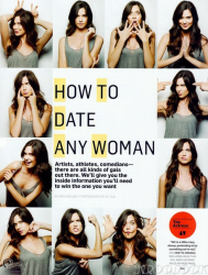 Одетт Эннэйбл в журнале Men's Health