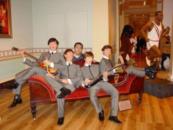 The Beatles в музеях мадам Тюссо