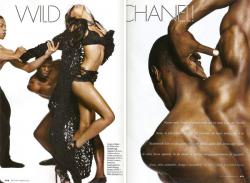 Шанель Иман в Elle Italia