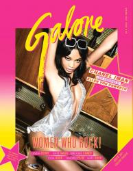 Шанель Иман для Galore Magazine