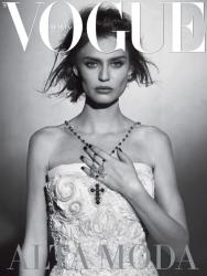 Бьянка Балти для Vogue Italia