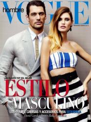 Бьянка Балти и Дэвид Ганди для Vogue Hombre