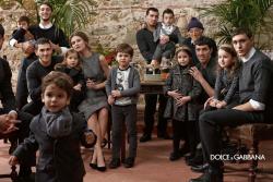 Бьянка Балти в рекламной кампании DOLCE & GABBANA KIDS F\W 13.14