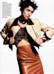 Ракель Циммерманн для Vogue Magazine USA, апрель 2013