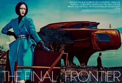 Ракель Циммерманн для журнала Vogue US, сентябрь 2013