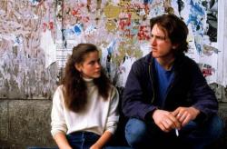 "Элли Шиди и Шон Пенн на съемках фильма ""Плохие мальчики"", 1982 год"