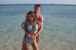 Андрей Ярмоленко с женой