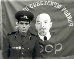 Вячеслав Ольховский в молодости