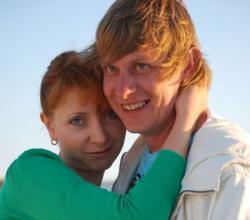 Сергей Казанин и его жена