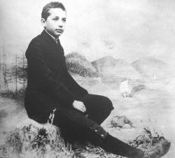 Альберт Эйнштейн в 1893 году