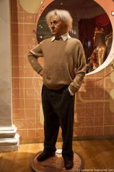 Восковые фигуры Альберта Эйнштейна в музеях Мадам Тюссо