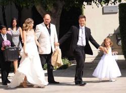 Свадьба Марка Уолберга и Риа Дюрэм