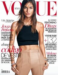 Лили Олдридж для Vogue Mexico, июль 2014