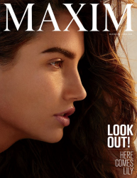 Лили Олдридж для Maxim, апрель 2015