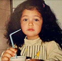 Санта Димопулос в детстве