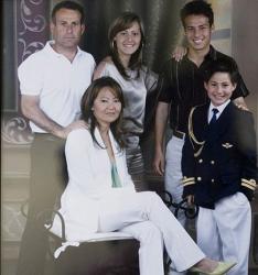 Семья Давида Сильва