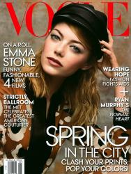 Эмма Стоун для Vogue USA, май 2014
