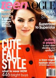 Эмма Стоун в журнале Teen Vogue