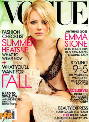 Эмма Стоун на обложке Vogue US
