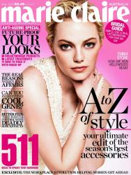 Эмма Стоун для Marie Claire AUS Май 2013
